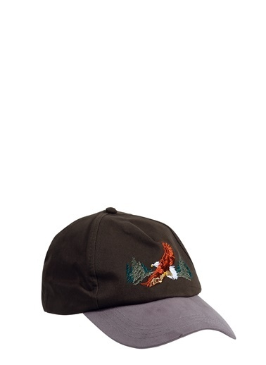 Collezione Collezione Önü Nakış Işlemeli  Erkek Şapka Haki